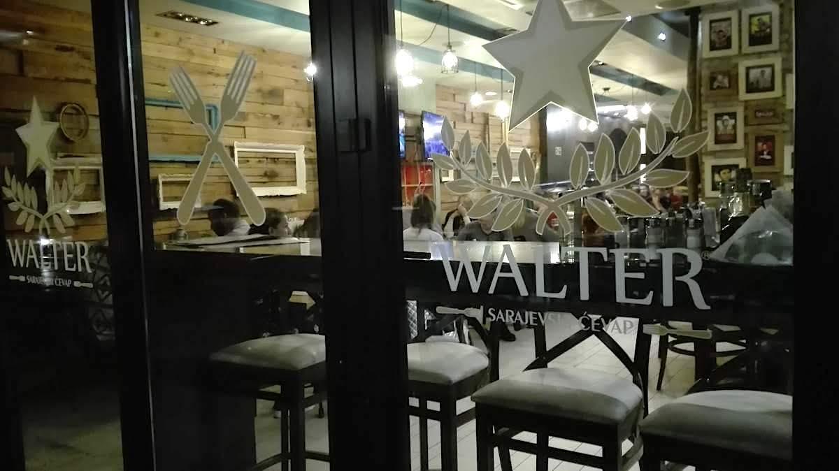 Serbische Küche gibts im Walter in Belgrad: Foto: Beate Ziehres