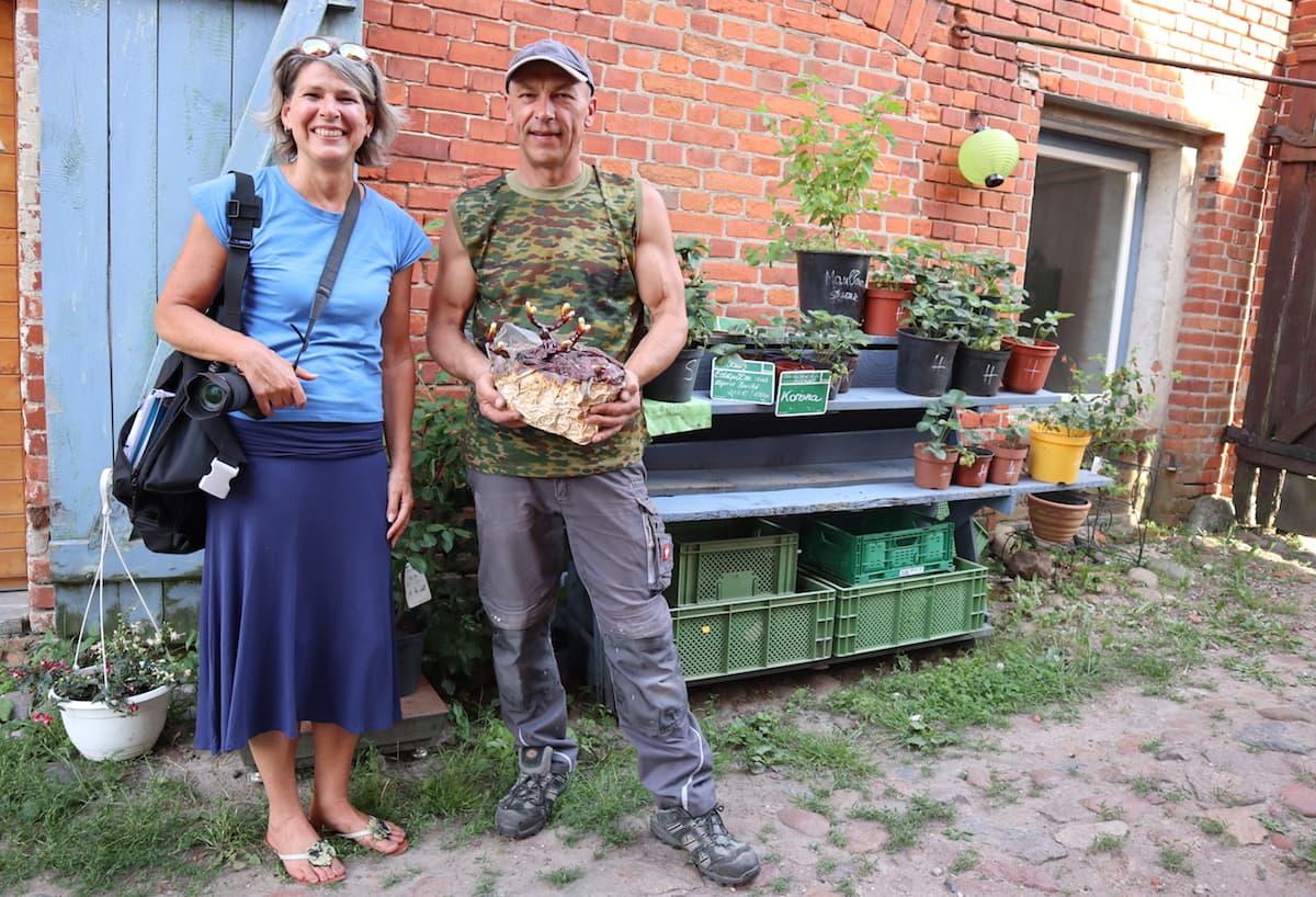 Stendal, Heeren, Bio Edelpilze Altmark, Vasyl Shvedyk, Beate Ziehres – Foto: Sibylle Paetow