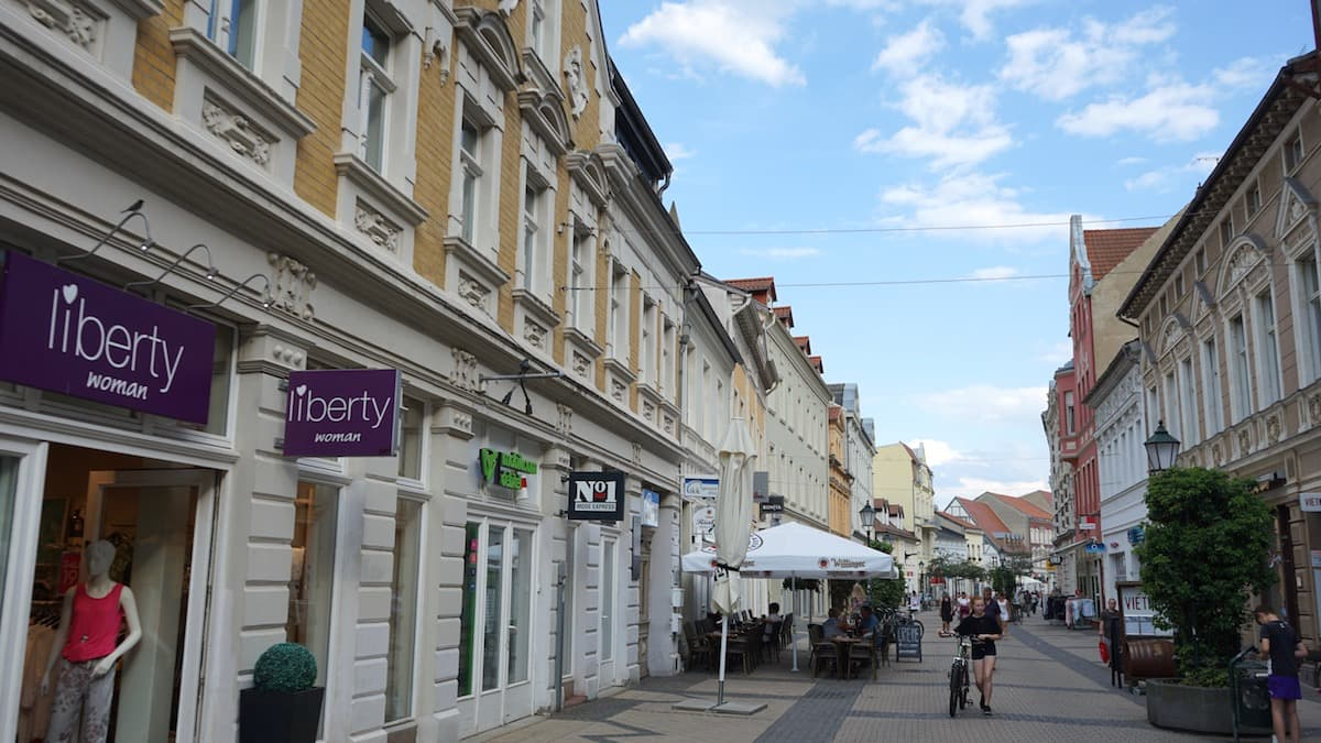 Stendal, Breite Straße – Foto: Beate Ziehres