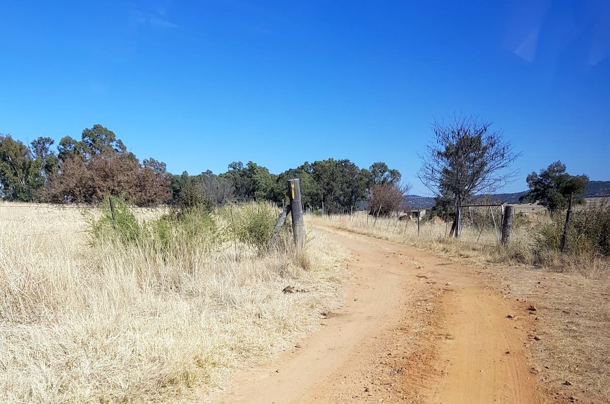 Safari in Südafrika, Zufahrt zu ChaZen Private Game Reserve. Foto: Lena Ziehres