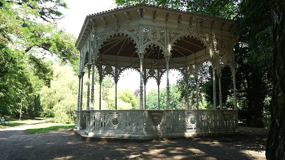 Tangerhütte, Stadtpark, Pavillon. Foto: Beate Ziehres