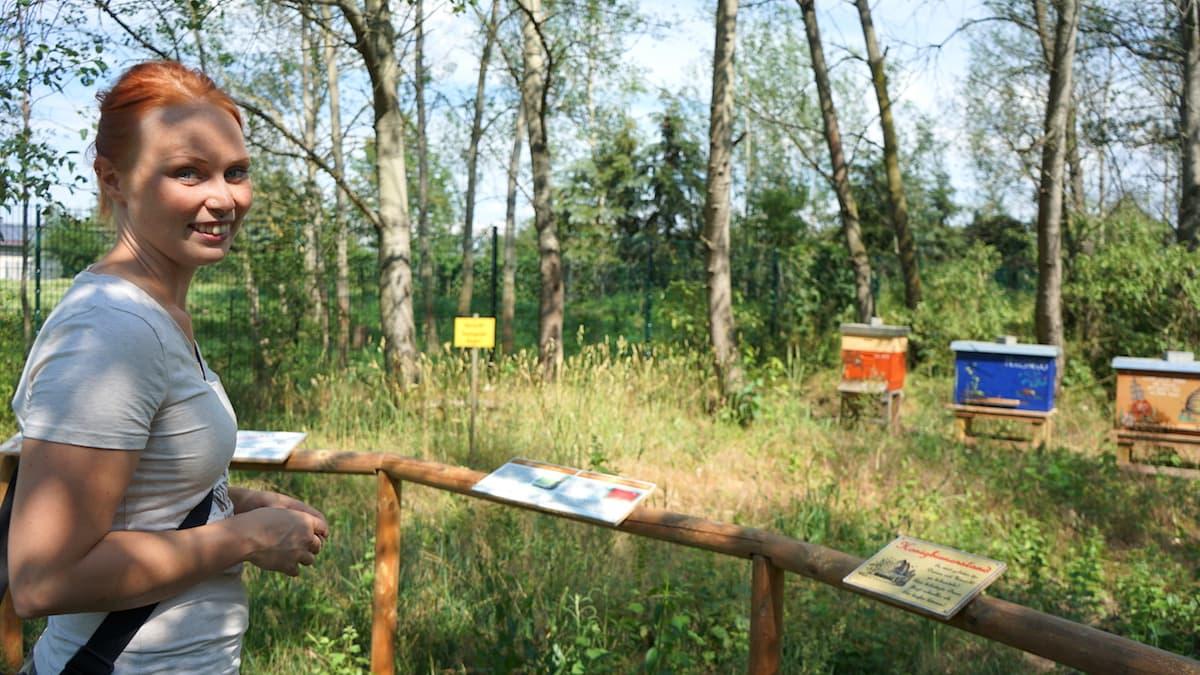 Tangerhütte, Wildpark Weißewarte, Josefine Krohn – Foto: Beate Ziehres