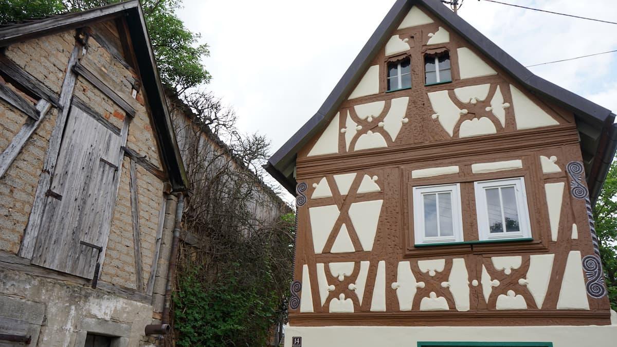 Taubertal, Dertingen: Fachwerkhaus – Foto: Beate Ziehres