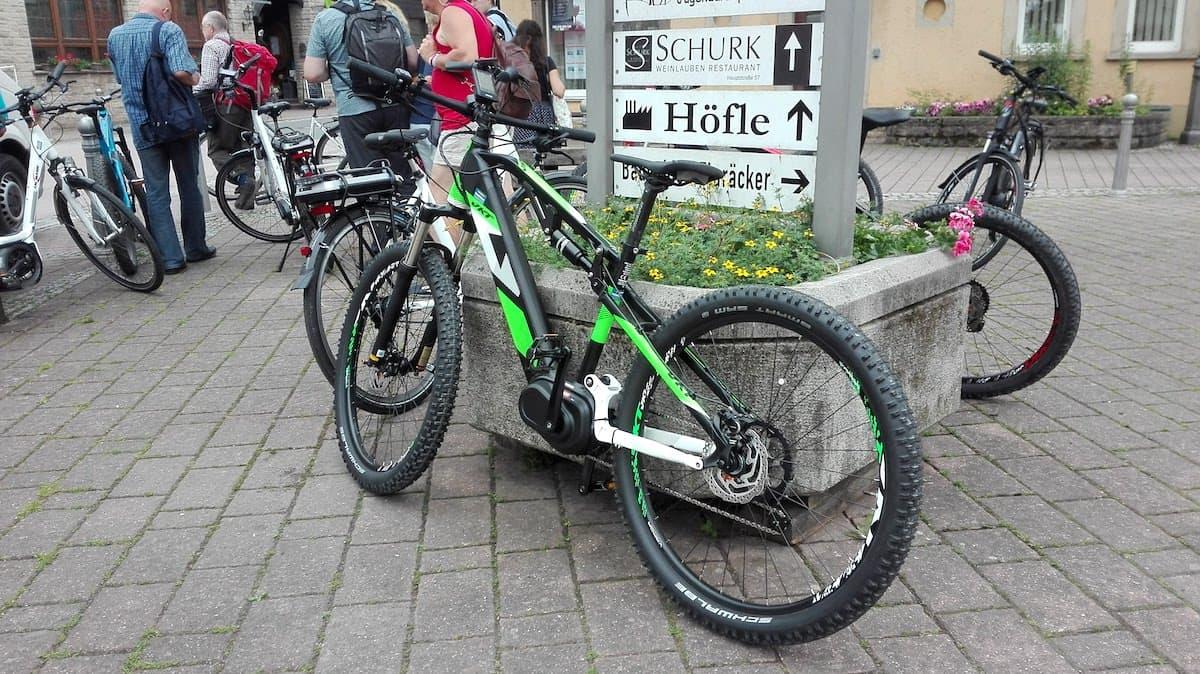 Taubertal: Ankunft mit dem Fahrrad in Markelsheim – Beate Ziehres