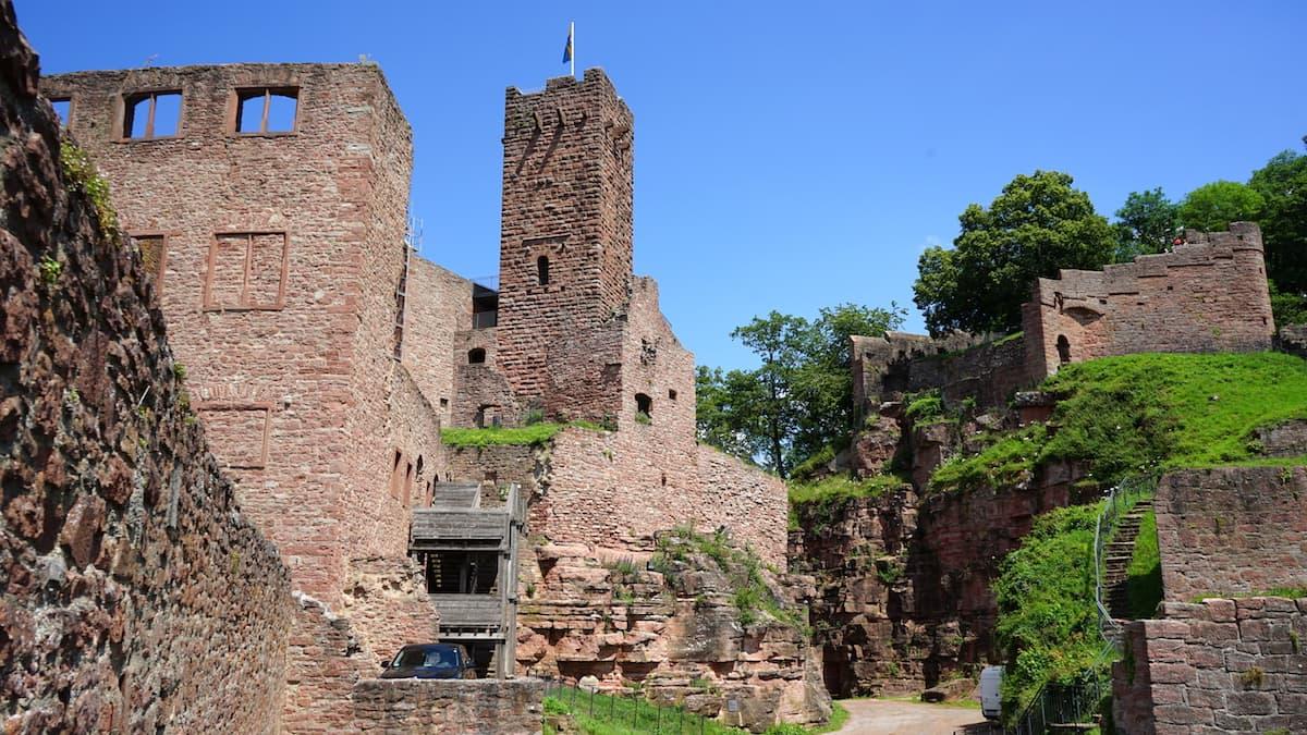 Taubertal: Burg Wertheim – Beate Ziehres