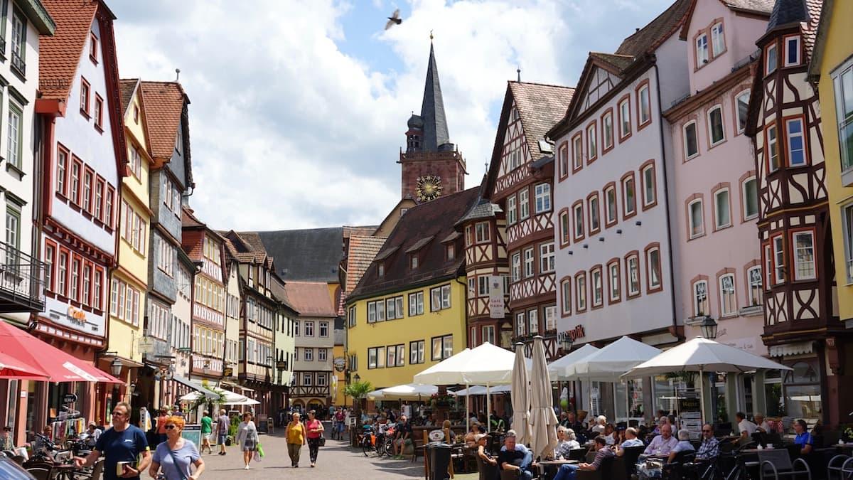 Taubertal: Innenstadt von Wertheim – Beate Ziehres