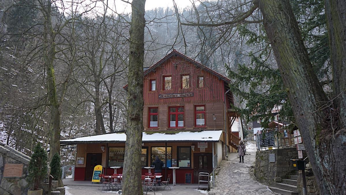 Gaststätte Königsruhe im Bodetal bei Thale. Foto: Beate Ziehres