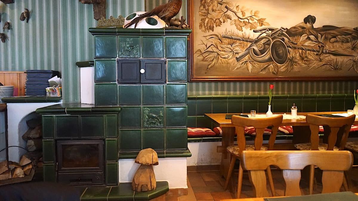 In der Gaststätte Königsruhe im Bodetal bei Thale. Foto: Beate Ziehres