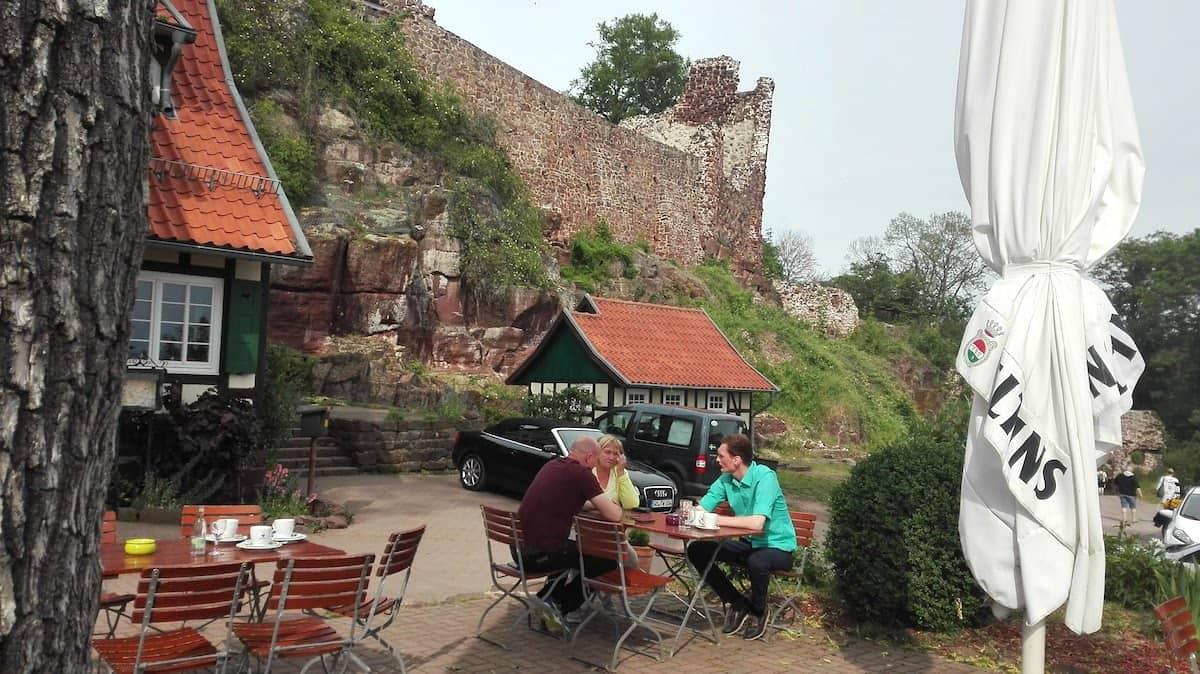 Urlaub in Deutschland: Burgruine Hohnstein. Foto: Beate Ziehres