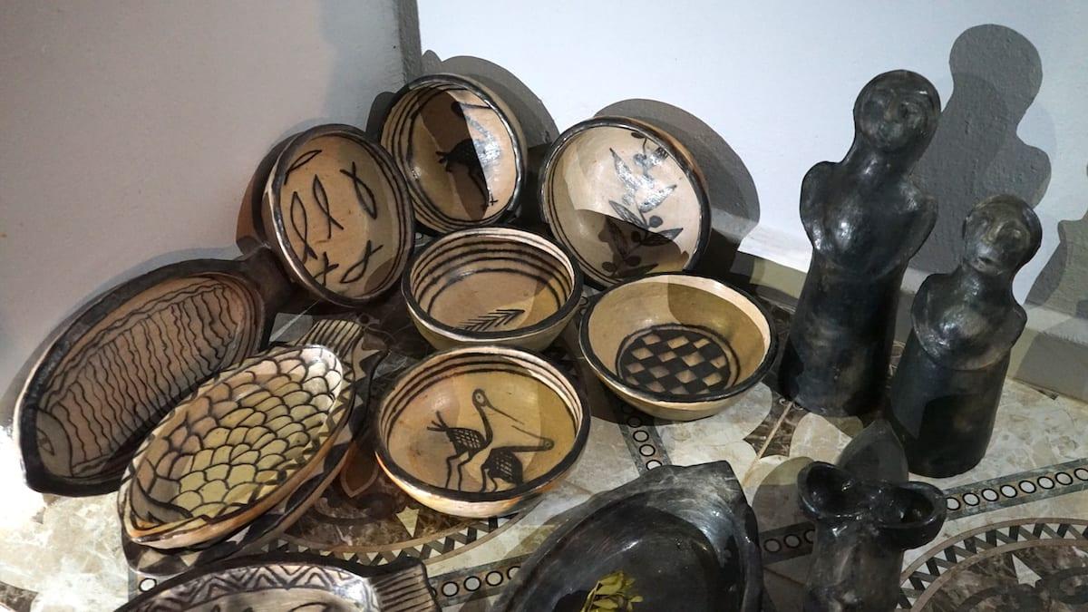 Sortiment der Töpferin in Sejenane, Nordtunesien. Foto: Beate Ziehres