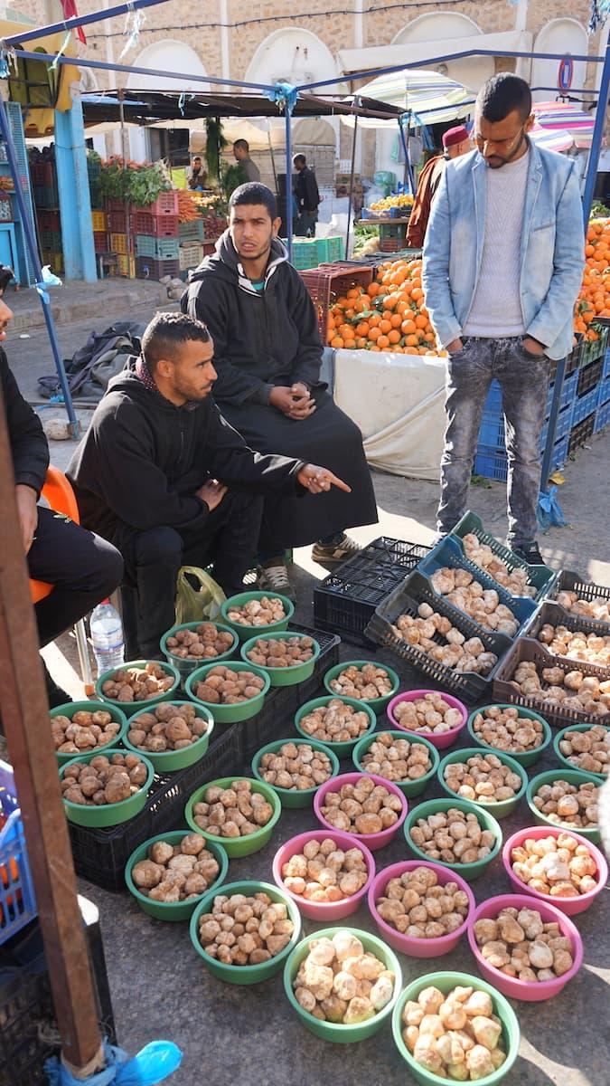 Essen in Tunesien: Überraschung auf dem Markt von Tataouine: Trüffel