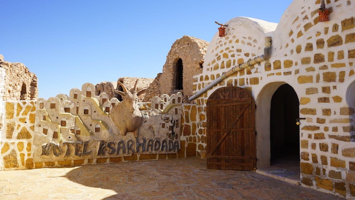 Tunesien, Star Wars Drehorte: Im Hotel Ksar Hadada sind leider momentan keine Übernachtungen möglich.