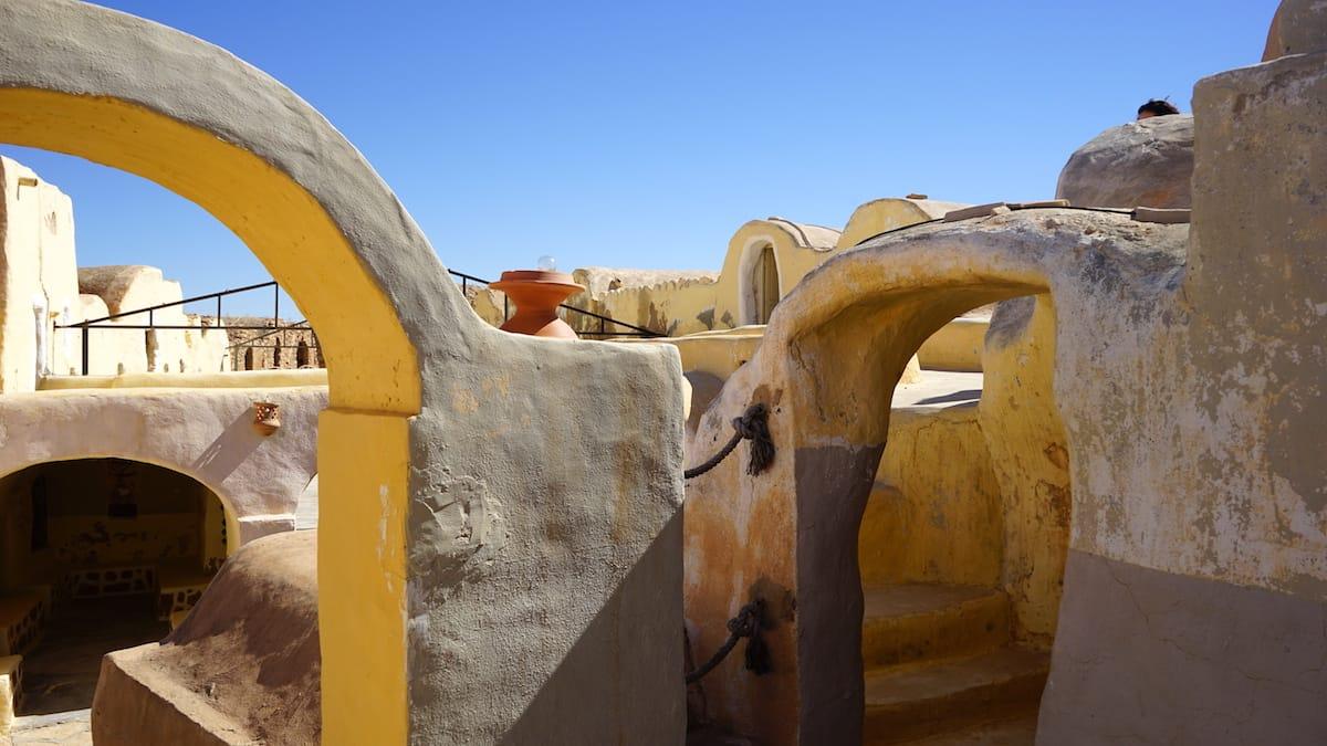 Tunesien, Star Wars Drehorte: Im Ksar Hadada gibt es viel zu entdecken.
