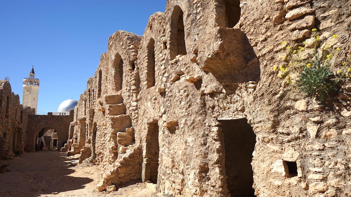 Tunesien, Star Wars Drehorte: Ksar Hadada abseits des Star Wars Drehortes. Hier ist Raum für viele Ideen.