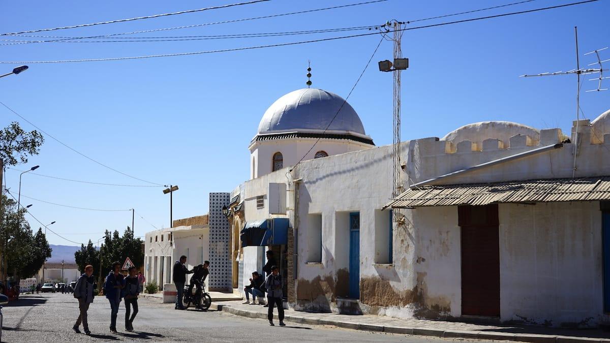 Tunesien Urlaub – Mittagszeit in Ksar Hadada im Süden Tunesiens. Foto: Beate Ziehres