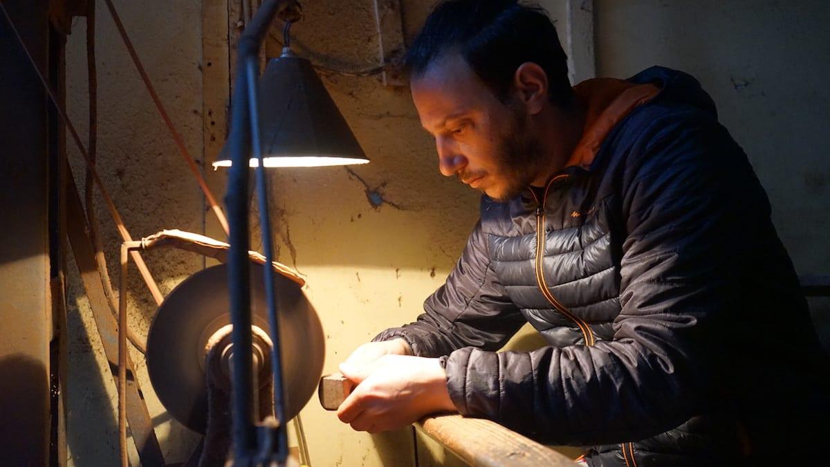 Anis Bouchnak in Tabarka, im Norden von Tunesien. Foto: Beate Ziehres