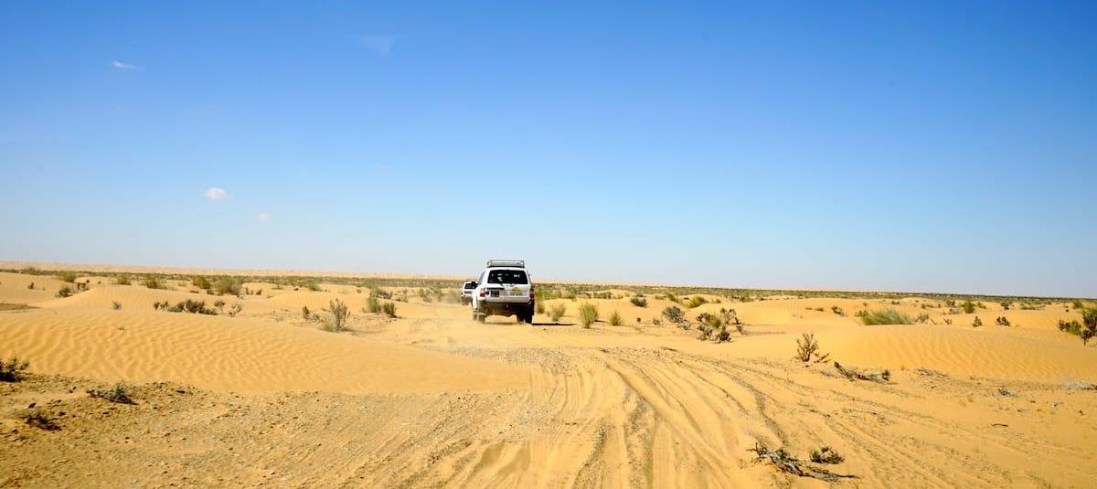 Tunesien Urlaub – mit dem Geländewagen in der Sahara. Foto: Beate Ziehres