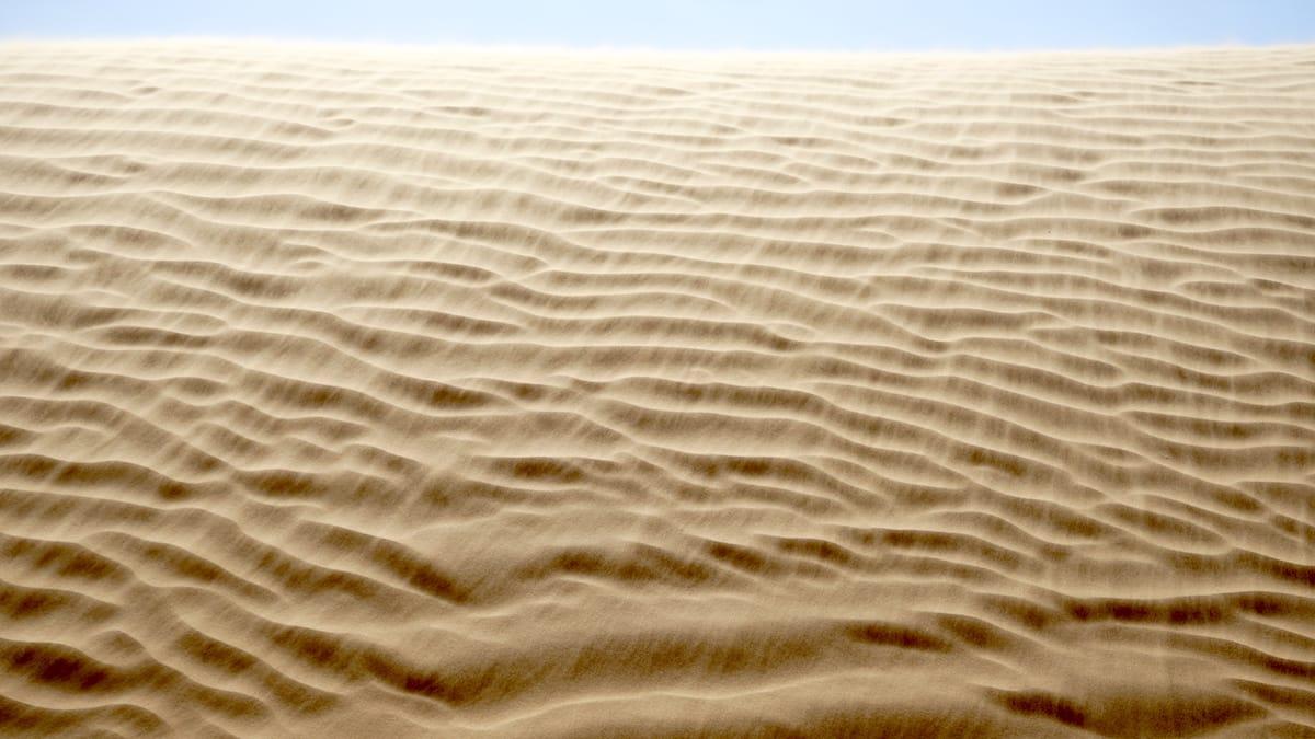 Tunesien Urlaub – Wind weht über die Dünen. Foto: Beate Ziehres