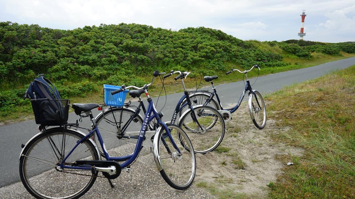 Wangerooge: Radtour zum neuen Leuchtturm – Foto: Beate Ziehres