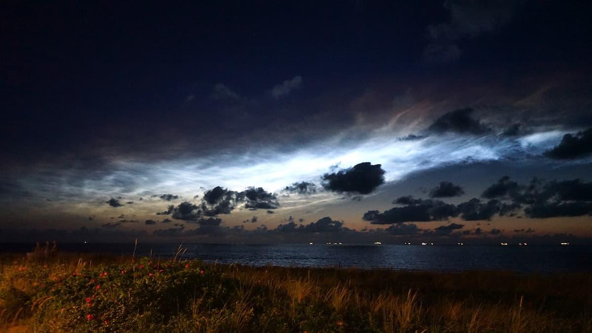 Wangerooge Mittsommerhimmel – Foto: Beate Ziehres