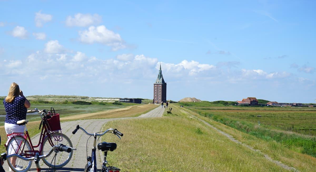 Wangerooge Westturm – Foto: Beate Ziehres