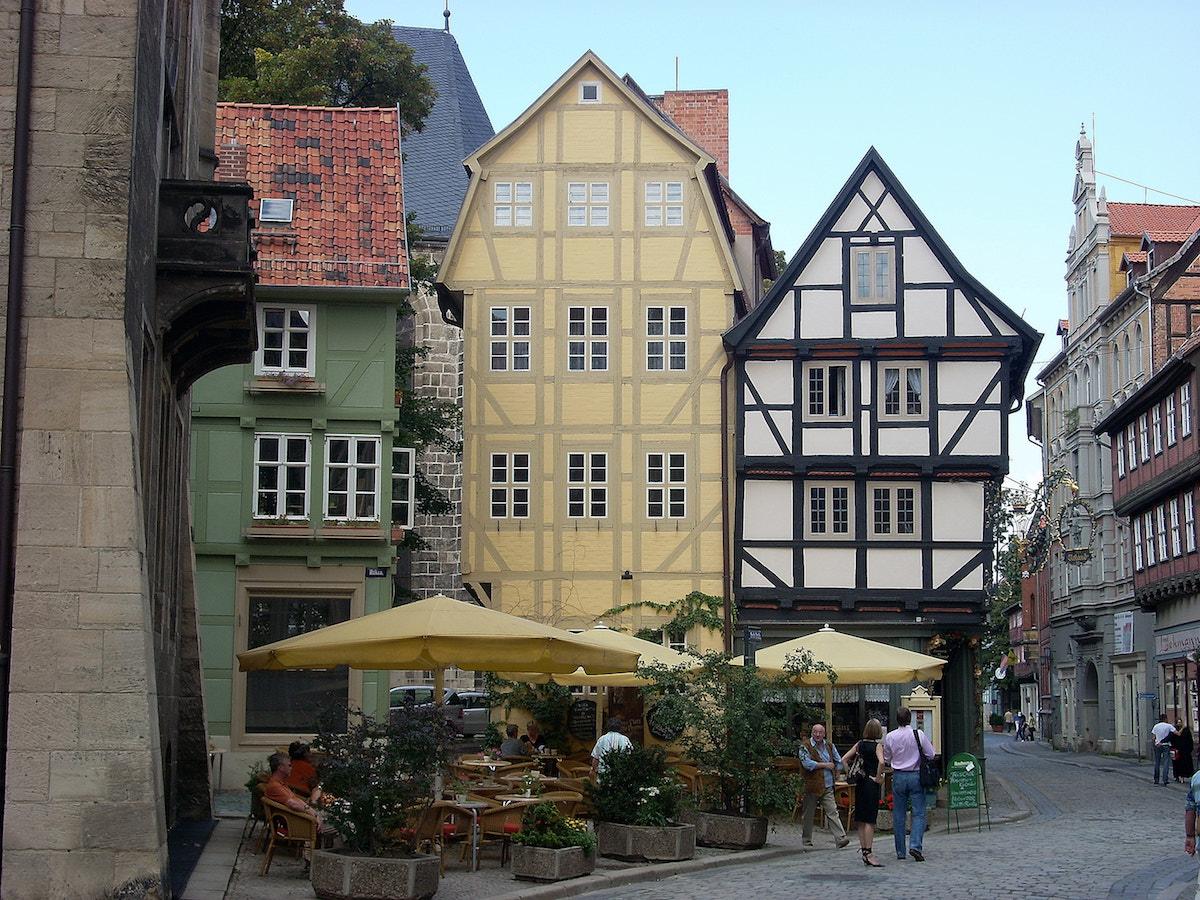 Altstadt von Quedlinburg, Welterbe Sachsen-Anhalt. Foto Beate Ziehres