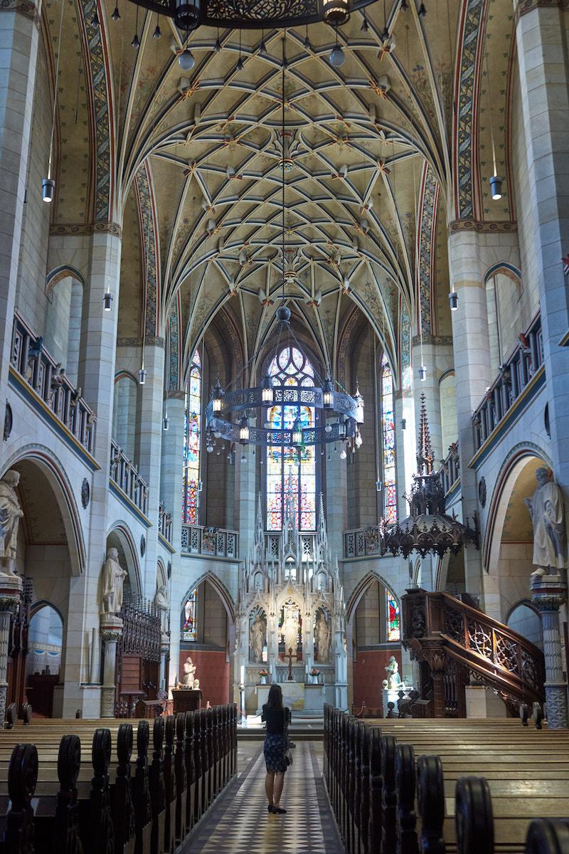 Innenraum Schlosskirche Lutherstadt Wittenberg. Foto: Beate Ziehres
