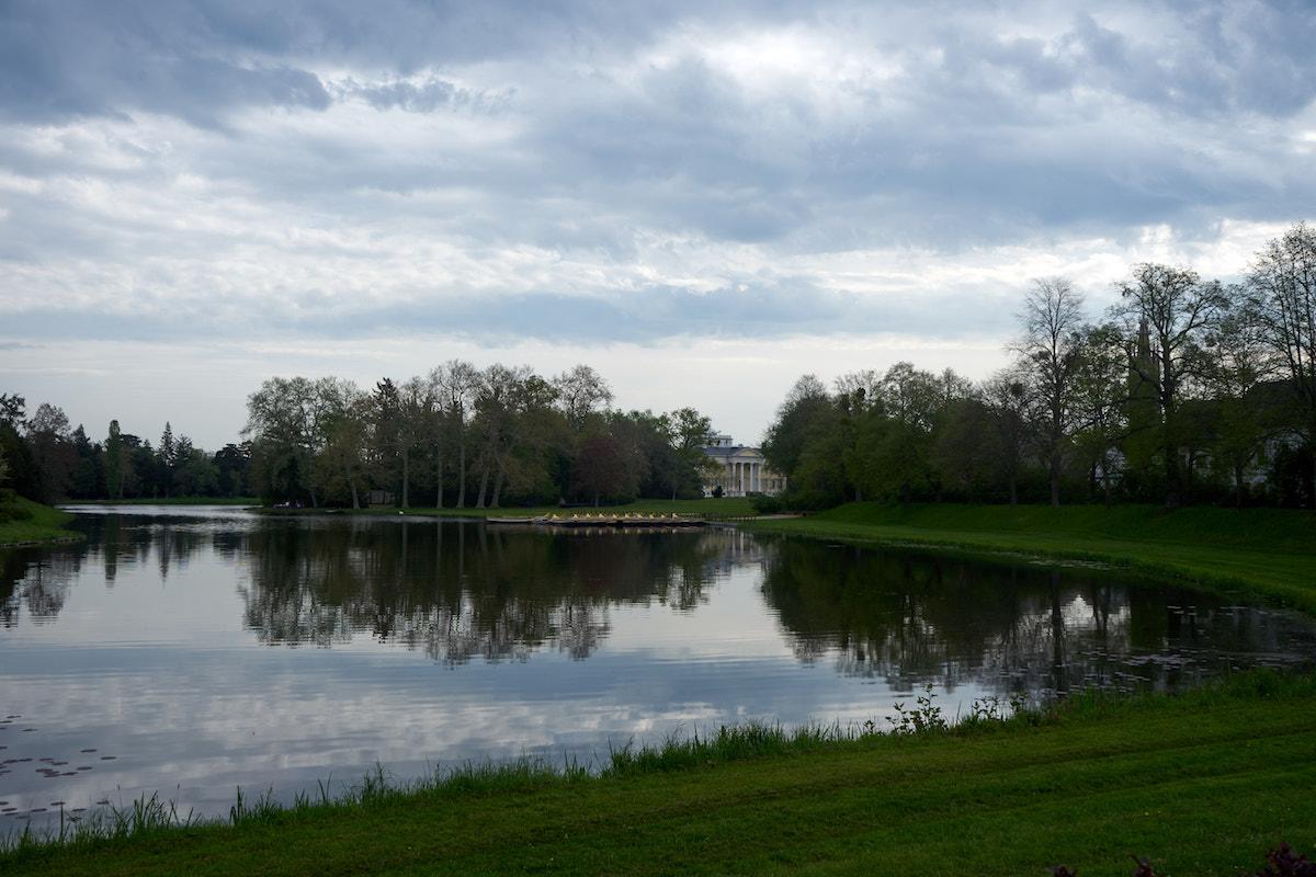 Wörlitzer Park mit Schloss. Foto: Beate Ziehres