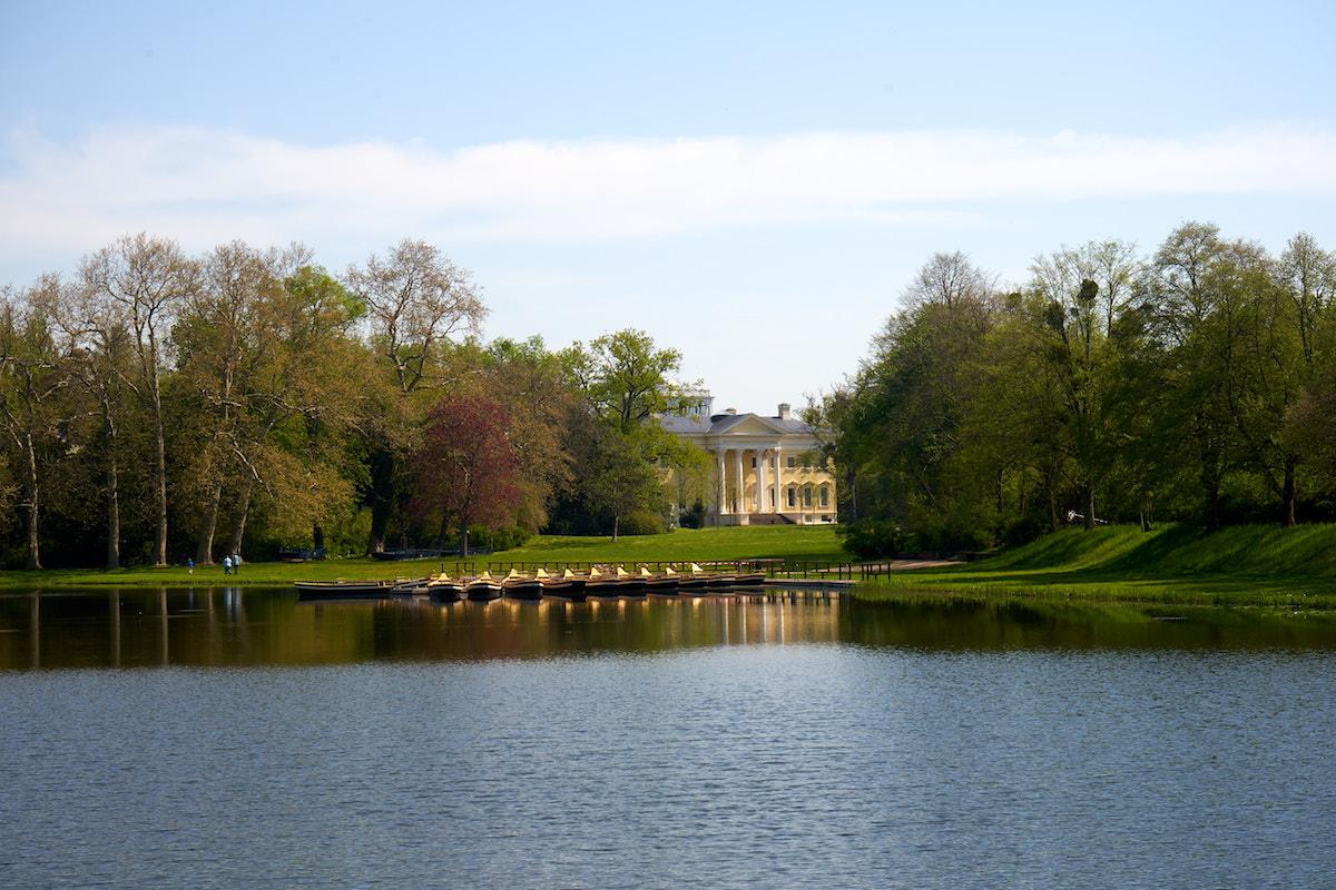 Schloss und Park Wörlitz, Welterbe Sachsen-Anhalt. Foto: Beate Ziehres