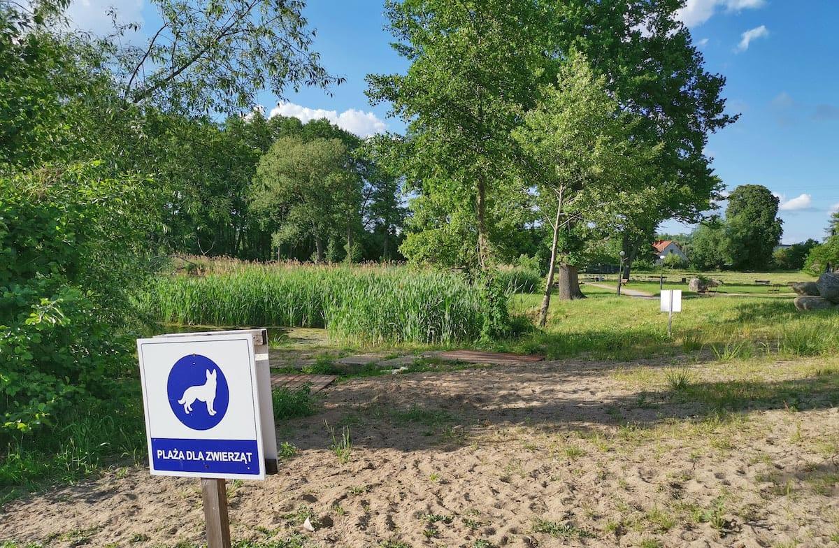 Hundestrand Ferienzentrum Olandia, Wielkopolska. Foto: Beate Ziehres, Reiselust-Mag