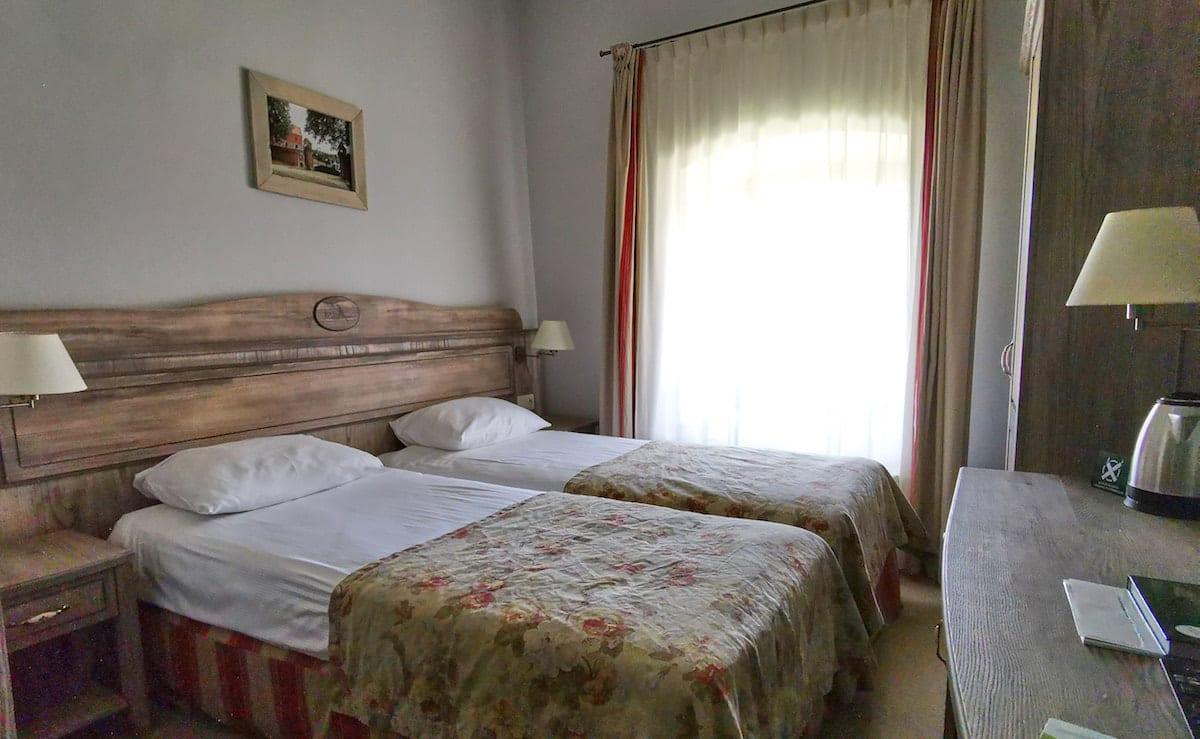 Zimmer im Ferienzentrum Olandia. Foto: Beate Ziehres, Reiselust-Mag