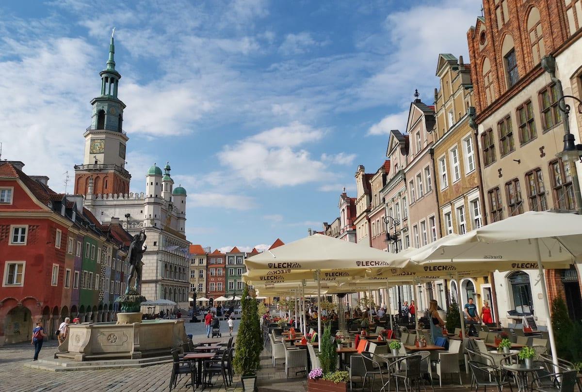 Altstadtmarkt von Poznań. Foto: Beate Ziehres, Reiselust-Mag