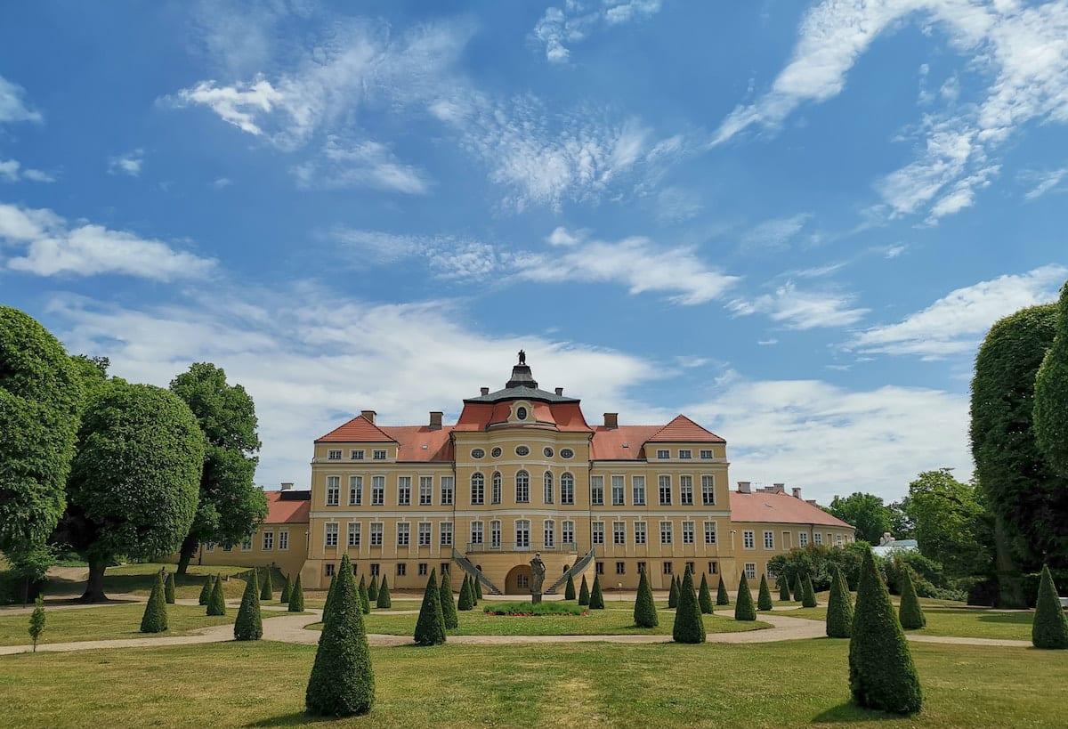 Schloss Rogalin, Barockgarten. Foto: Beate Ziehres, Reiselust-Mag