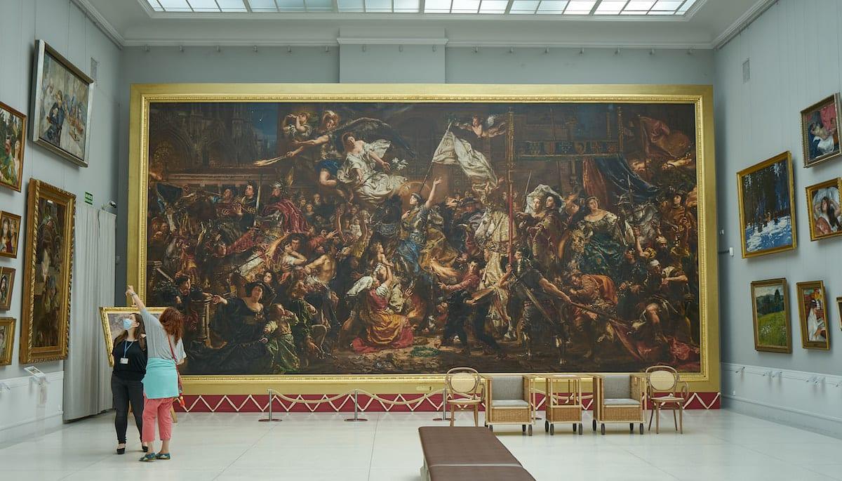 Kunstgalerie im Schloss Rogalin. Foto: Beate Ziehres, Reiselust-Mag