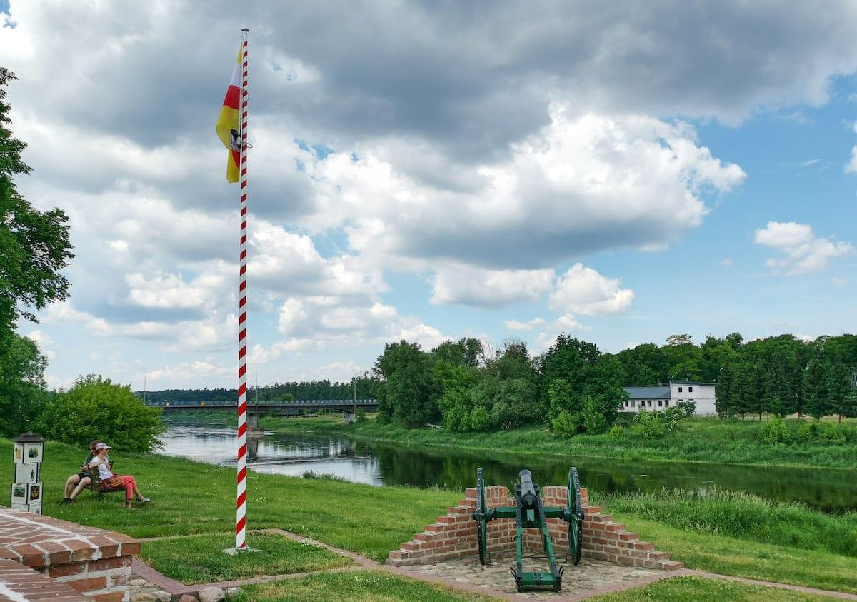 An dieser Brücke in Sieraków hat Napoleon gekämpft und verloren. Foto: Beate Ziehres, Reiselust-Mag