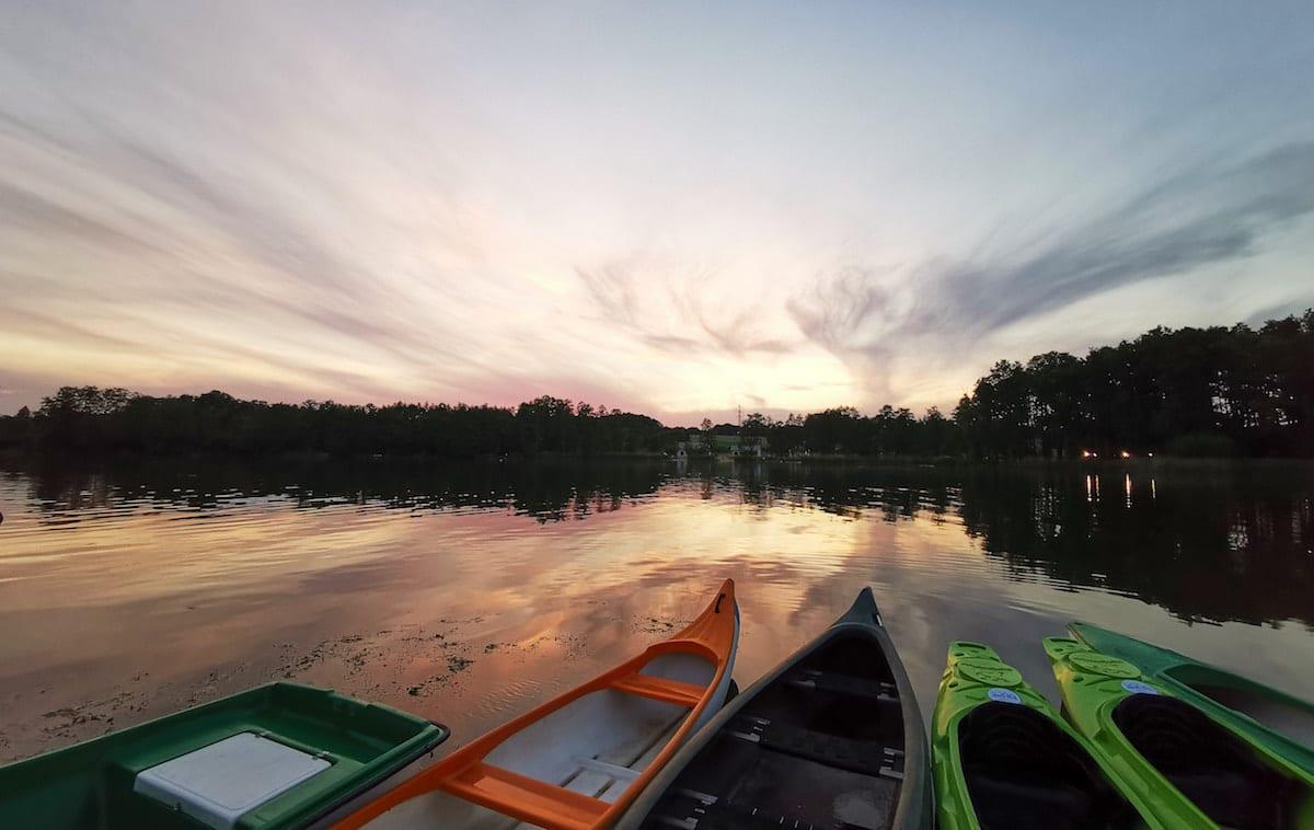 Wielkopolska Sonnenuntergang. Foto: Beate Ziehres, Reiselust-Mag