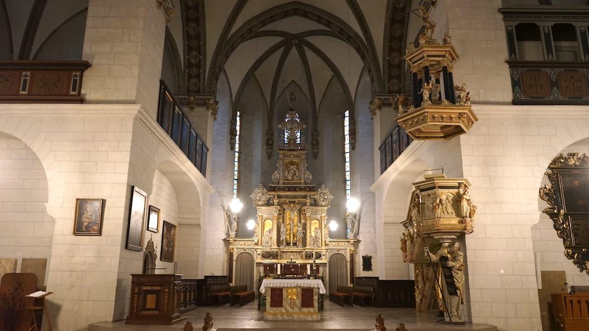 Hauptkirche BMV in Wolfenbüttel – Altar.