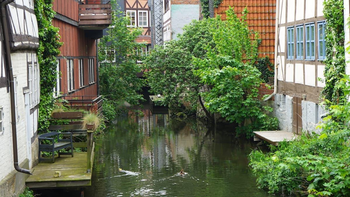 Pittoresk: Klein Venedig in Wolfenbüttel.