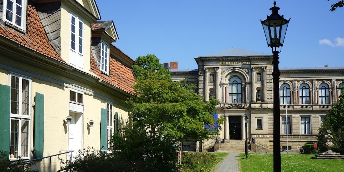 Wolfenbüttel, Herzog August Bibliothek und Lessinghaus